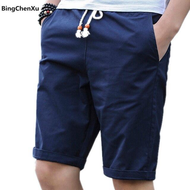 e883d9ae67 2018 homens curtos Calções de Verão Homens moda Casual Mens corredores Respirável  calças curtas Shorts De