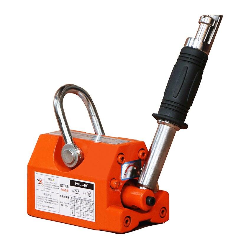 Permanent Magnet Crane Magnetic Lifter Heavy Duty Steel Crane Hoist Lifting Magnet Y