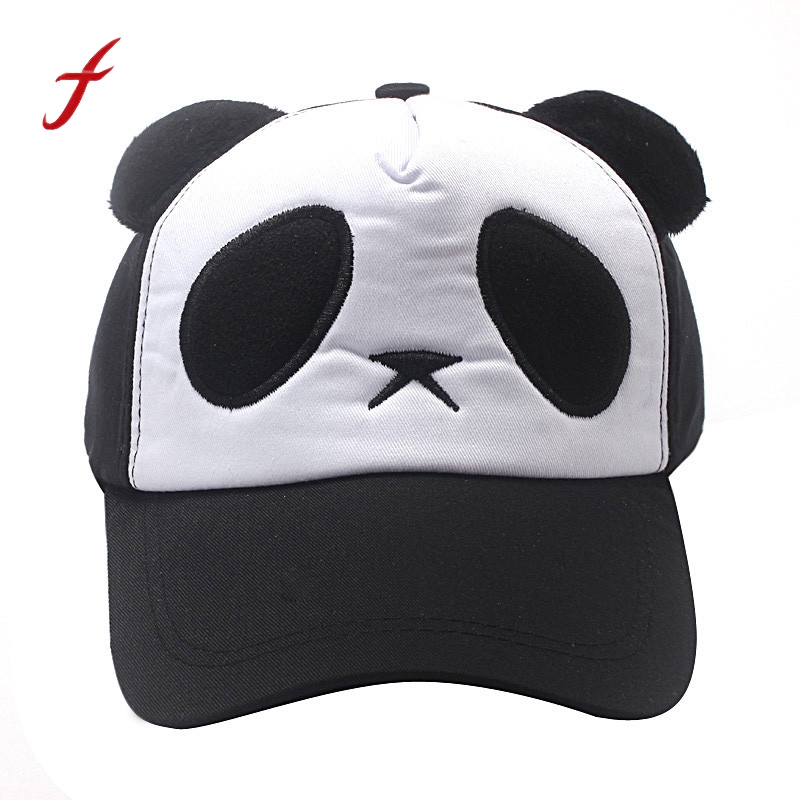 Bekleidung Zubehör Mode Frauen Baseball Caps Marke Im Freien Sonne Hut Design Casual Snapback Gorras Knochen Kappe Panda Maske Dual-use-hüfte Hop Hüte