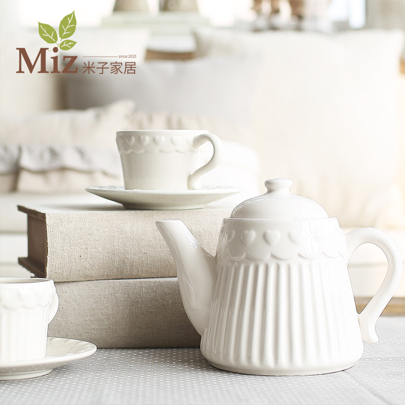 <font><b>M</b></font> sub Home Furnishing ceramic ornaments (European <font><b>Cup</b></font> / Saucer teapot / Nani <font><b>three</b></font> piece <font><b>tea</b></font>) home decoration accessories