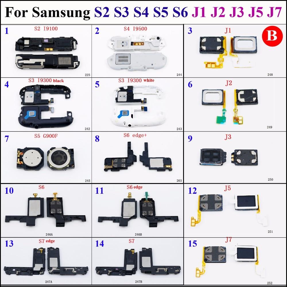 1pcs Loud Speaker Ringer Buzzer Loudspeaker repair parts For Samsung Galaxy S2 S3 S4 S5 S6 S7 S6 edge J1 J2 J3 J5 J7 S6 edge+