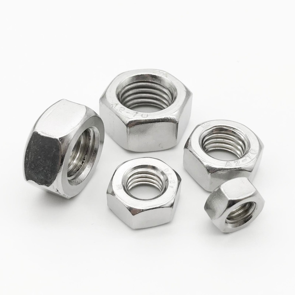 10 Pack Hexagonal Completo NUTS BZP M10