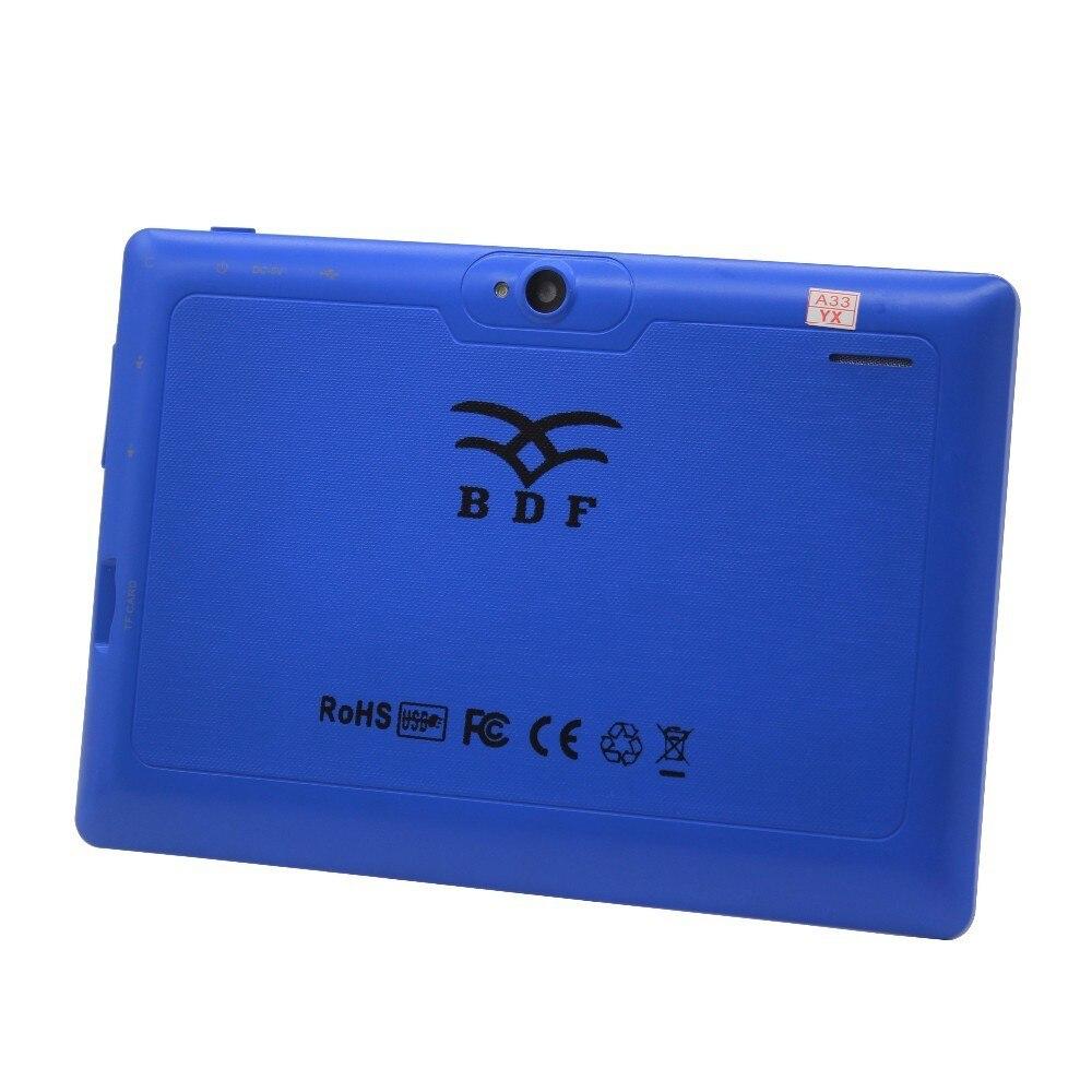 Prix pour 7 pouce Pratique et pas cher Allwinner A33 Quad Core 1 GB 16 GB Android 4.4 Enfants Tablet PC HD Écran 1024*600 Double Caméra pc tablet