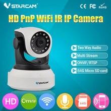 Ip-камеры, pan/tilt vstarcam onvif беспроводные видеонаблюдения видения ик ночного sd крытый