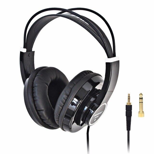 HP288 ハイファイヘッドフォンセミオープン過耳 3.5 6.3 プラグイン調整と軽量ヘッドバンドハイファイヘッドセットヘッドフォン