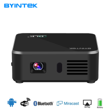 BYINTEK D9 del Bolsillo Portable Inteligente Android USB de Vídeo Wifi HD Proyector Proyector LED 1080 P DLP Mini Teléfono Para Smartphone Iphone