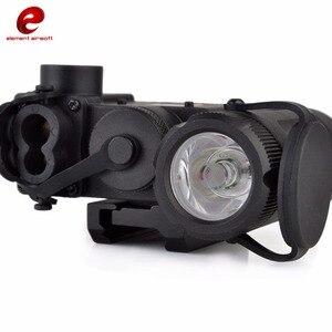 Image 5 - אלמנט Airsoft פנס IR לייזר אדום לייזר LED DBAL EMKII תכליתי טקטי IR DBAL D2 סוללה מקרה 14DBAL EMKII EX328