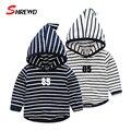 Hoodies Kids Boys Autumn New Fashion Striped Boys Hoodies 2016 Long Sleeve Simple Casual Baby Boy Clothes 4193Z