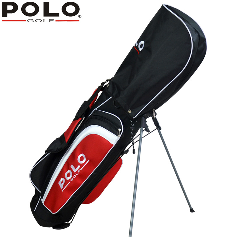 Brand Polo Genuine New Men's Golf Clubs Bag Golf Frame Bracket Gun Rack Bag Golf Support Package Shoulders Portable Lightweight top quality dragon golf club set bag sport golf clubs bag high grade pu golf bags practice golf sets 3 colors are available