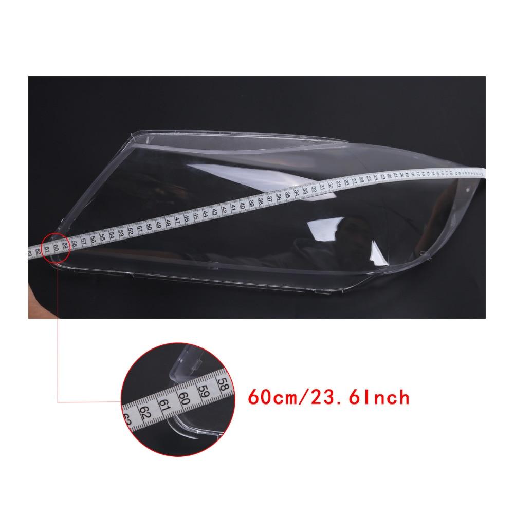sinistra copertura 2005//–/2011 Fari alogeni lenti coperture di ricambio per serie 3/E90/Berlina//E91/Touring
