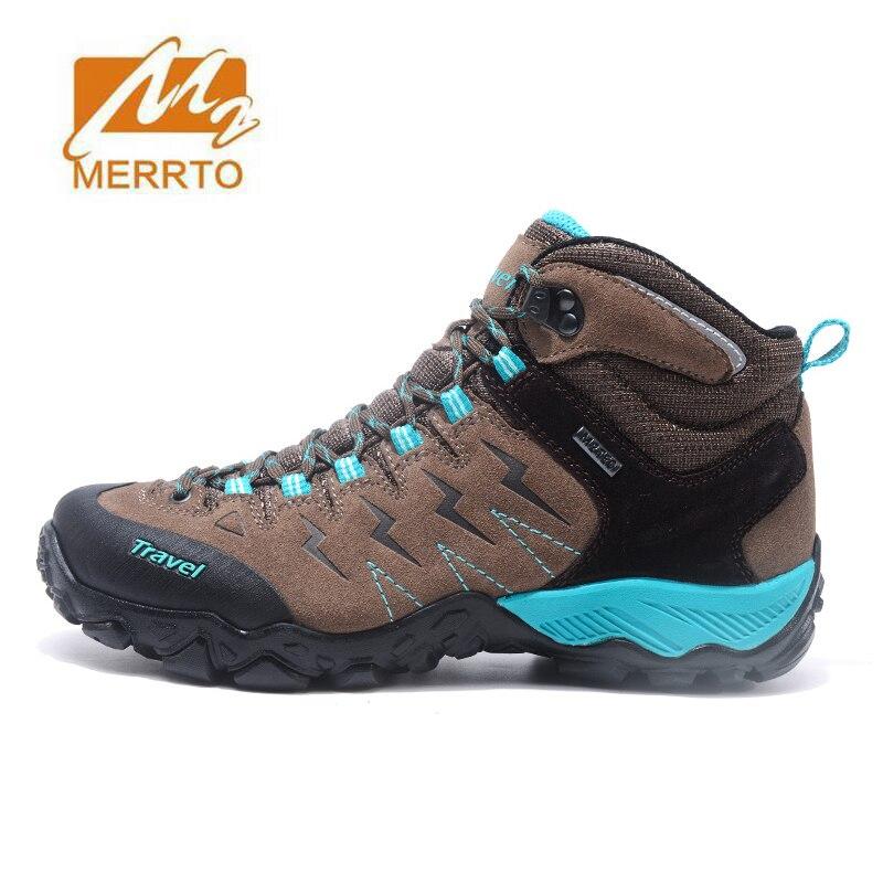 MERRTO Women's Winter Outdoor Hiking Trekking Boots Shoes Sneakers For Women Sport Winter Climbing Mountain Boots Shoes Woman merrto women hiking shoes women sneakers leather outdoor hiking trekking shoes sneakers for women sport climbing mountain shoes