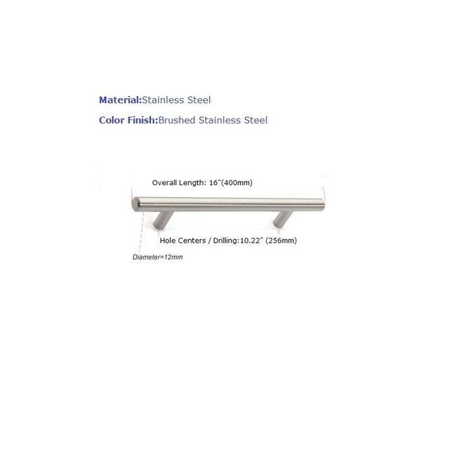Tienda Online Acero 256 mm / 400 mm acero perillas de los cajones ...