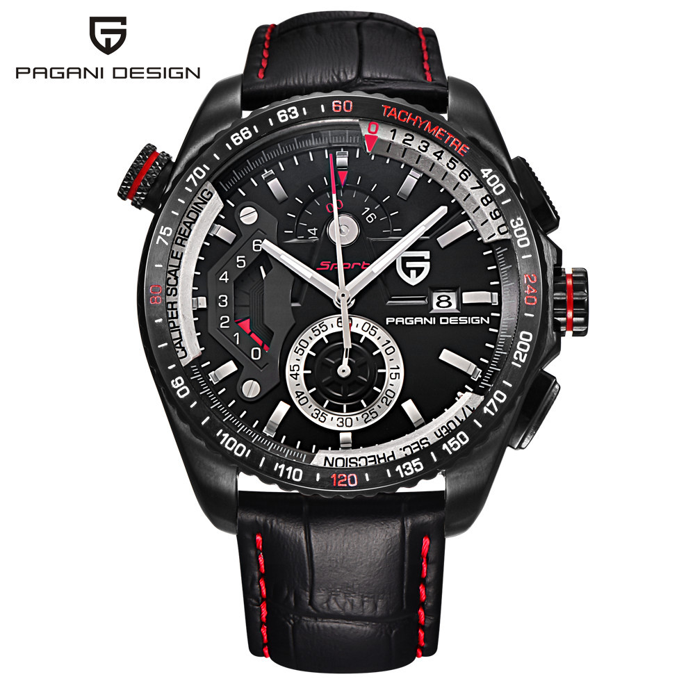 Montres de Sport DESIGN PAGANI de marque de luxe pour hommes montres à Quartz en acier inoxydable Relogio Masculino/CX-2492C