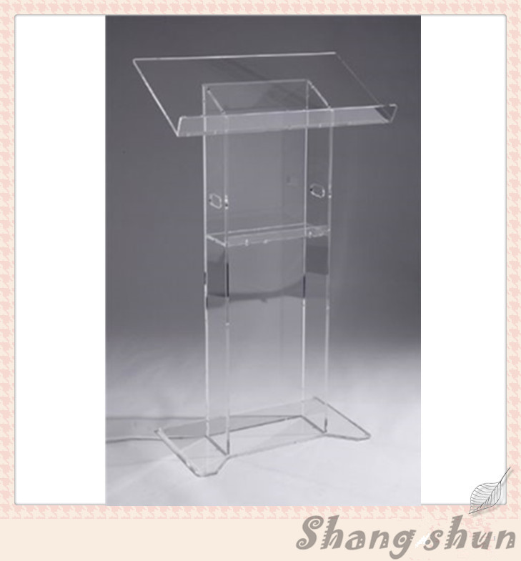 Acrylic Desktop / Acrylic Church Lectern Stand Church Podium Organic Glass Church Pulpit free shipping organic glass pulpit church acrylic pulpit of the church