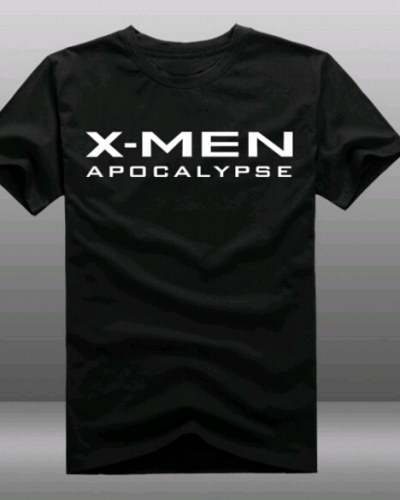 X-Men Apocalypse t shirt cotton short sleeve
