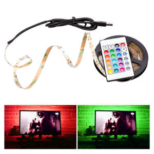 Strip-Lamp Tape-Ribbon Background Led-Light TV 2835SMD Flexible 5M HDTV Rgb Led 5v Usb