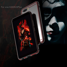For VIVO X20 6.01 Bumper Cover Luxury Deluxe Ultra Thin Metal Aluminum Frame Case for Plus 6.43 with back