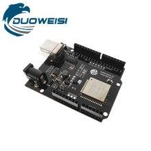 لوحة تطوير ESP32 لوحة تحكم وحدة إرسال واستقبال لاسلكية تعمل بالواي فاي بالبلوتوث