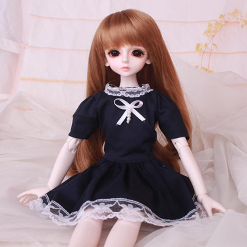 1/3 1/4 1/6 <font><b>1/8</b></font> <font><b>BJD</b></font> <font><b>Doll</b></font> Lovely <font><b>Dress</b></font> Clothes For <font><b>Bjd</b></font> <font><b>Dolls</b></font> Toys Accessories image