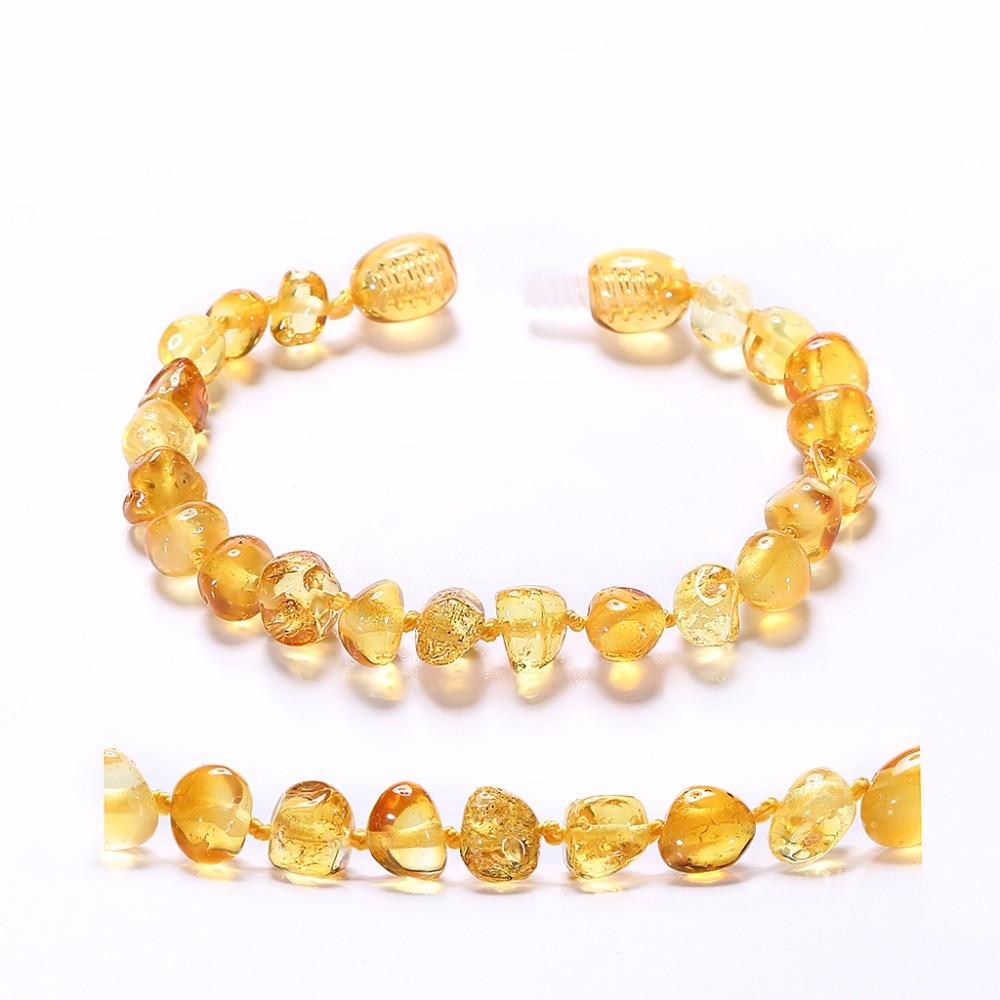Βραχιόλι Βαλτικής Κίτρινο για - Κοσμήματα - Φωτογραφία 3