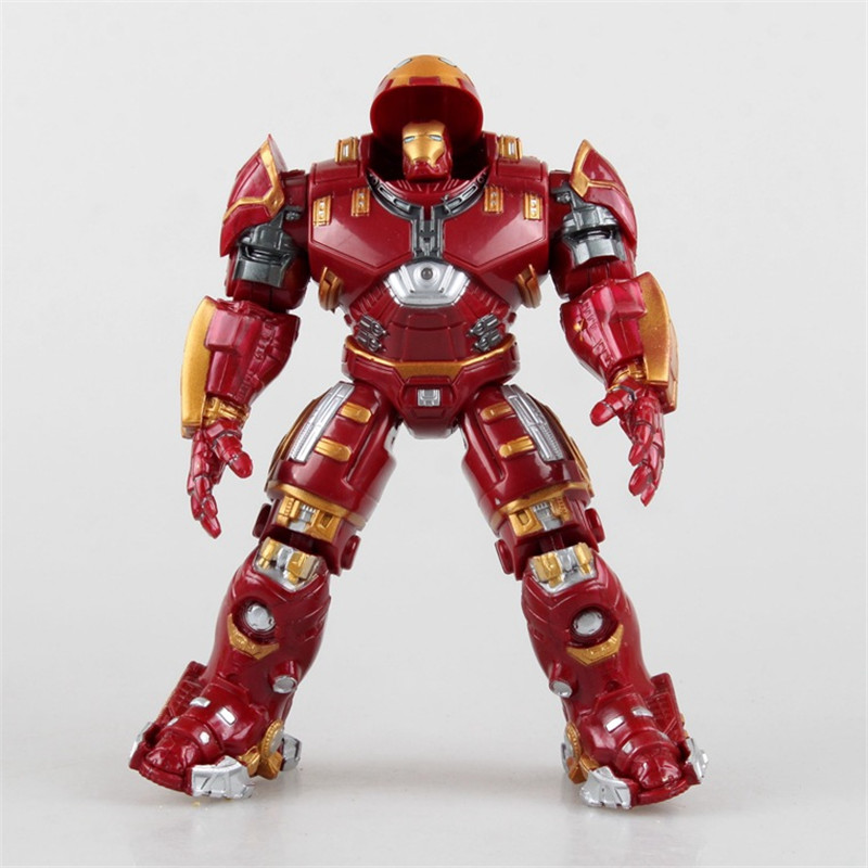 Marvel The Avengers 2 Age Of Ultron Iron Man Hulkbuster PVC Action Figure Superhero Collectible Model Kids Toys Doll 17cm xinduplan marvel shield iron man avengers age of ultron mk45 limited edition human face movable action figure 30cm model 0778