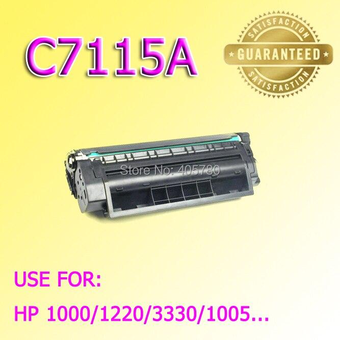 ФОТО new C7115A  Toner cartridge for HP1000/1220/3330/3300/1005 freeshipping+