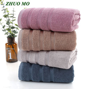 Image 1 - ZHUO MO 70 * 140cm Bamboo fiber Bath Towel For Adults Sport Bathroom Outdoor Travel Soft Thick High Absorbent Antibacterial