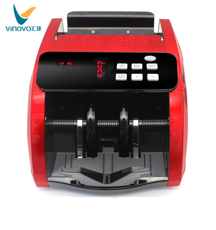 Fashion Currency Cash Money Bill Counter for EURO&US DOLLAR Currency Detectors