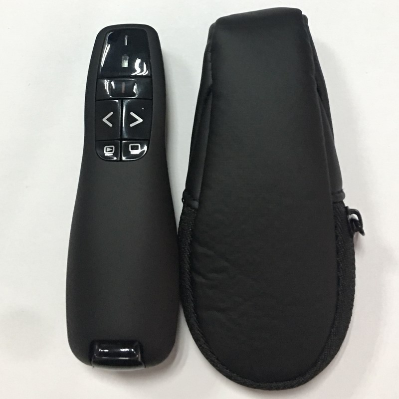 PPT Remote Control, 2.4G USB Wireless Presenter, Laser Pointer for Power point, Replacement of Logitech R400