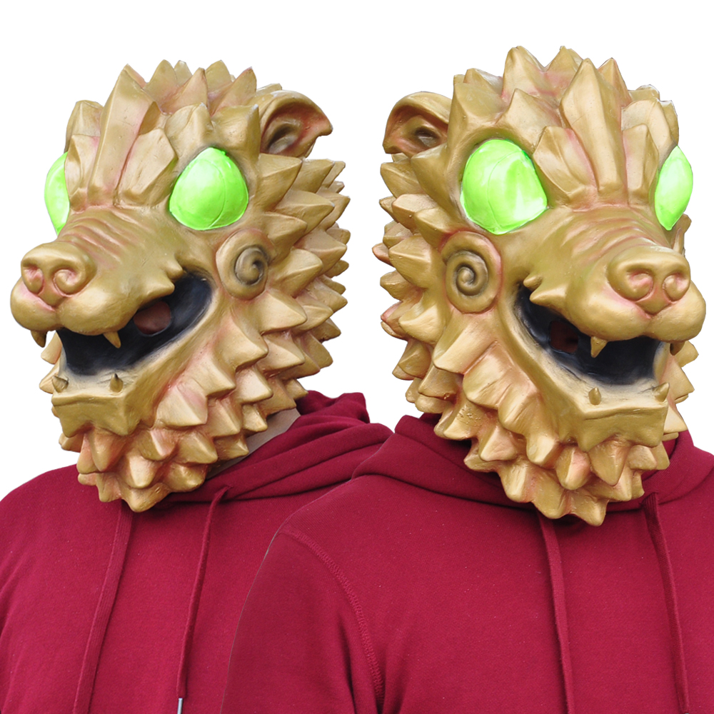 Battle Royale Hound Mask Cosplay Hound Latex Masks Helmet Halloween Carnival Masquerade Party Props DropShipping