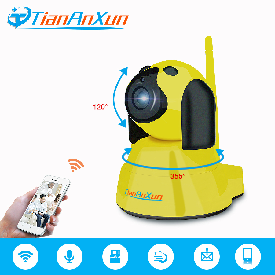 TIANANXUN Home Security Wireless Smart IP Camera 720P Night Vision Surveillance wifi Camera Indoor Mini Dog Baby Monitor YOOSEE baby monitor camera wireless wifi ip camera 720p hd app remote control smart home alarm systems security 1mp webcam yoosee app