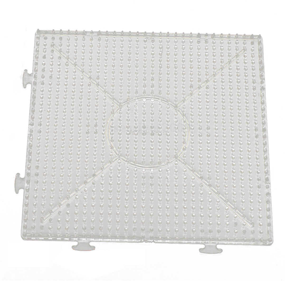 Computer & Office 4pcs Abc Clear 145x145mm Square Large Pegboards Board For Hama Fuse Perler Bead Commodities Are Available Without Restriction Computer Components