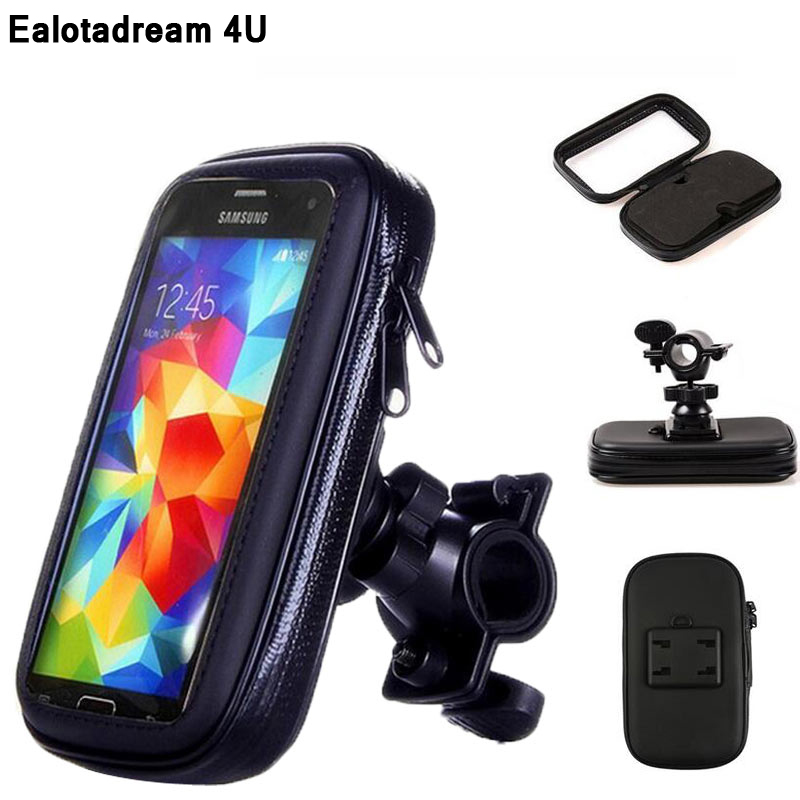 Universal Bike Holder For iPhone 5 6 7 8 Plus Holder Support Mobile Bicycle Stand for LG G6 Samsung S7 S8 Holder Waterproof Bag