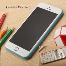 Fxsum Портативный складной калькулятор двойной Питание карман 12 цифровых Солнечный Калькулятор Офис Школьные принадлежности MIMI Calculadora