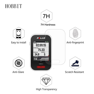 Image 5 - Silicone TPU Back Cover Case For Polar V650 GPS Road Mountain Bike Cycling with LCD Screen Protector for Polar V650 Film