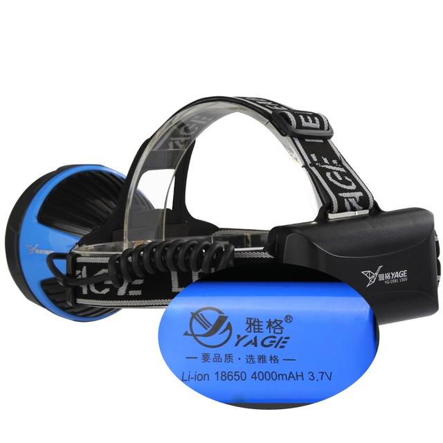 Yage Rechargeable Flashlight Headlamp 2