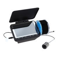 OOTDTY Fish Finder DVR Video 1000TVL 8 LED Night Vision Camera 30M 4 3 LCD Monitor