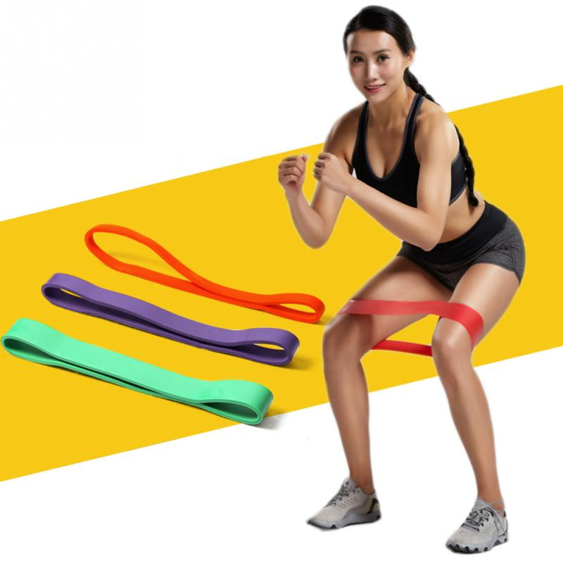 High Quality Yoga Latex Resistance Bands Fitness Loop Rope