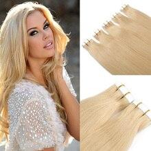 7A Brazilian Virgin Hair Tape Hair Extensions Straight Hair 20pcs/lot PU Skin Weft Hair Extension