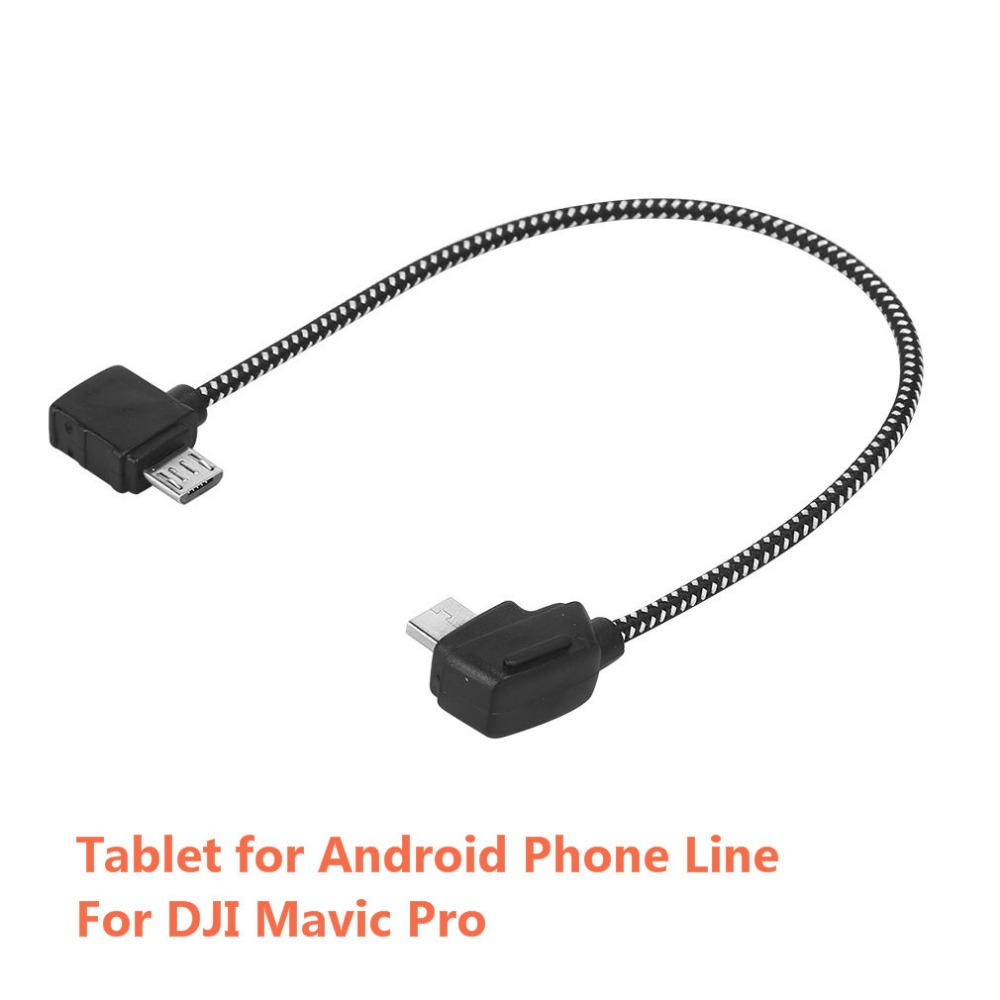 Remote Control Tablet Data Connecting Cable Tablet for Android Phone Line Reverse For DJI Mavic Pro RC Drone Accessories