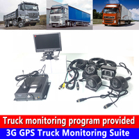 Direct selling spot 4G AHD960P / 720P HD 3G GPS truck monitoring set heavy machinery / forklift / agricultural locomotive