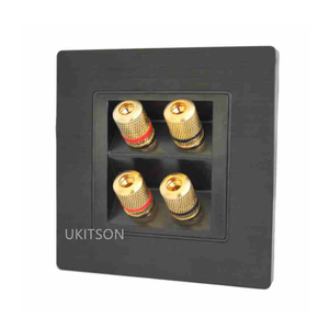 Image 2 - Quality Speaker Wall Panel Frame With 4 Ports Banana Connectors For Home Theater System