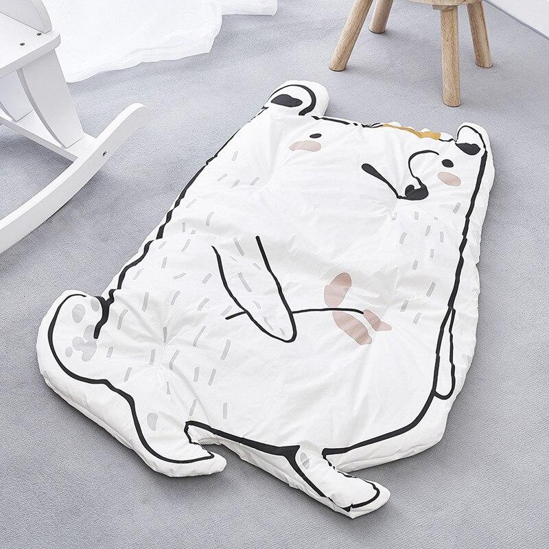 Cartoon Animals Toddler Lovely Play Rug Bedroom Carpet Kids Blanket