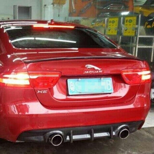 Alerón trasero de fibra de carbono de alta calidad para maletero, alerón de maletero, 1 uds, diseño de coche para alerón de Jaguar XE 2015 2016 2017