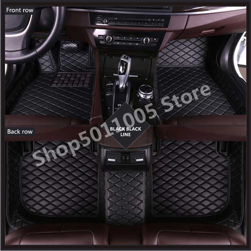 Car Floor Mat For Peugeet 307 Sw 2005 2008 Accessories Carpet Leather Waterproof Pad in Floor Mats from Automobiles Motorcycles