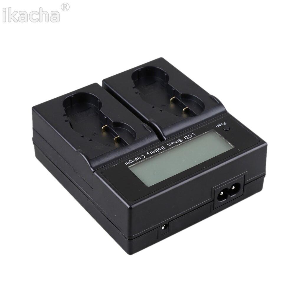 新しい EN EL18 ENEL18 EN EL18A 液晶 Sreen デジタル電池充電器 2 席ニコン D5 D4 D4S D4X カメラ  グループ上の 家電製品 からの カメラ充電器 の中 3