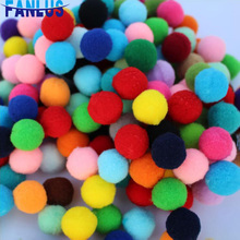 30mm Multiple Colors Pompom DIY Craft Handicraft Accessories Supplies Childrens Toy Decoration For Home Christmas