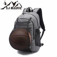 SJ Maurie Sport Backpack Men Basketball Backpack School Bag for Teenager Boys Football Pack Laptop Bag Gym Bags