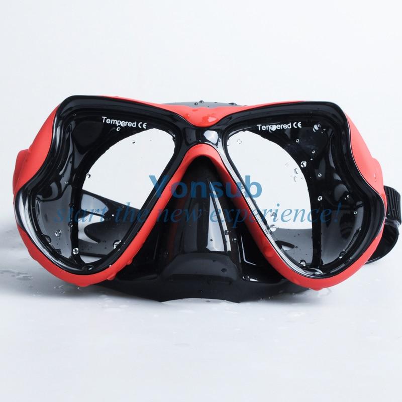 100% Hot Sale Diving Mask + Dry Snorkel Set Dykning Produktutrustning - Vattensporter