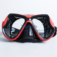 100%Hot-Sale Diving Mask+dry Snorkel Set Product Equipment /Silicone Mask/Swim Mask Goggle Free Shipping
